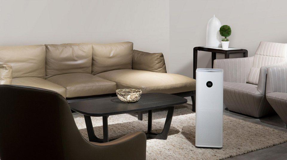 Xiaomi Mi Air Purifier Pro интерьер диван квартира