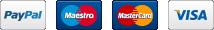 PayPal Maestro MasterCard Visa