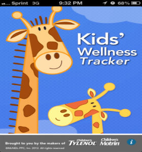 Приложение Kids' Wellness Tracker отслеживает состояние здоровья вашего ребенка