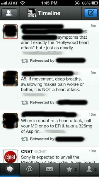 Переписка твиттер медицинские гаджеты