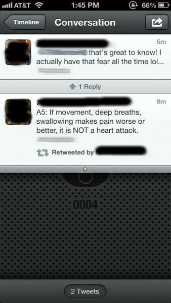 Переписка2 твиттер медицинские гаджеты
