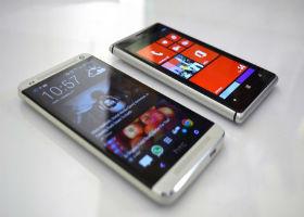 Cмартфон Lumia с металлическим корпусом