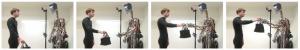 Естественные движения робота при захвате предмета.