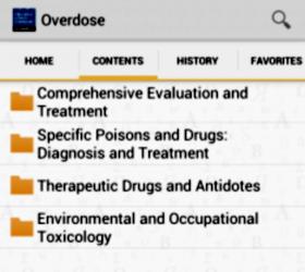 Приложение Poisoning and Drug Overdose - квалифицированный помощник в случае отравления