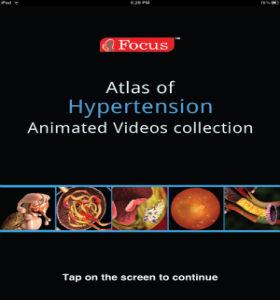 """Приложение """"Атлас гипертонии"""" с анимационными роликами"""