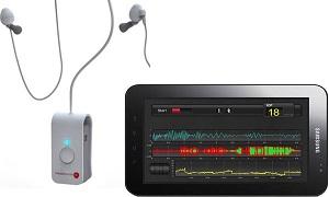 Устройство, разработанное израильской компанией HeadSense, представляет собой неинвазивный измеритель- контроллер, который отправляет и принимает звуковые волны для измерения внутричерепного давления.