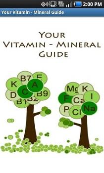 Your Vitamin – Mineral Guide - удобное и функциональное приложение, содержащее полезную информацию о витаминах и минералах.