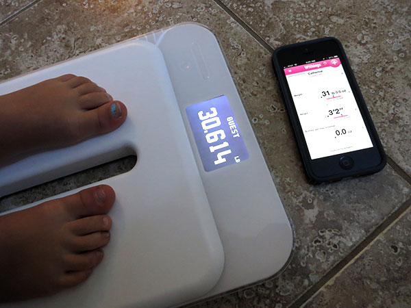 Электронные детские весы Withings Smart Kid Scale WS-40