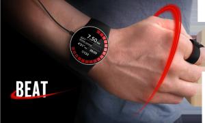Спортивные часы Beat - творение молодого дизайнера Эдриэна Генетт
