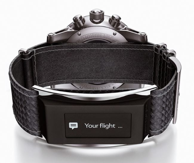 Montblanc-Timewalker-urban-speed-e-strap-watch-press