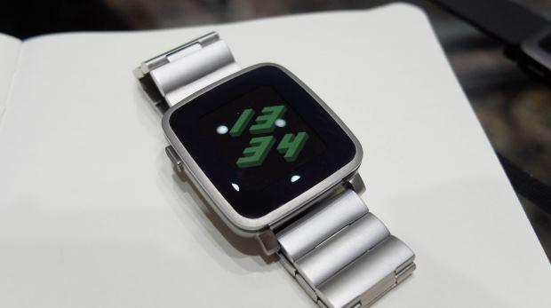 Умные часы Pebble Time Steel: обзор от Medgadgets - Медгаджетс