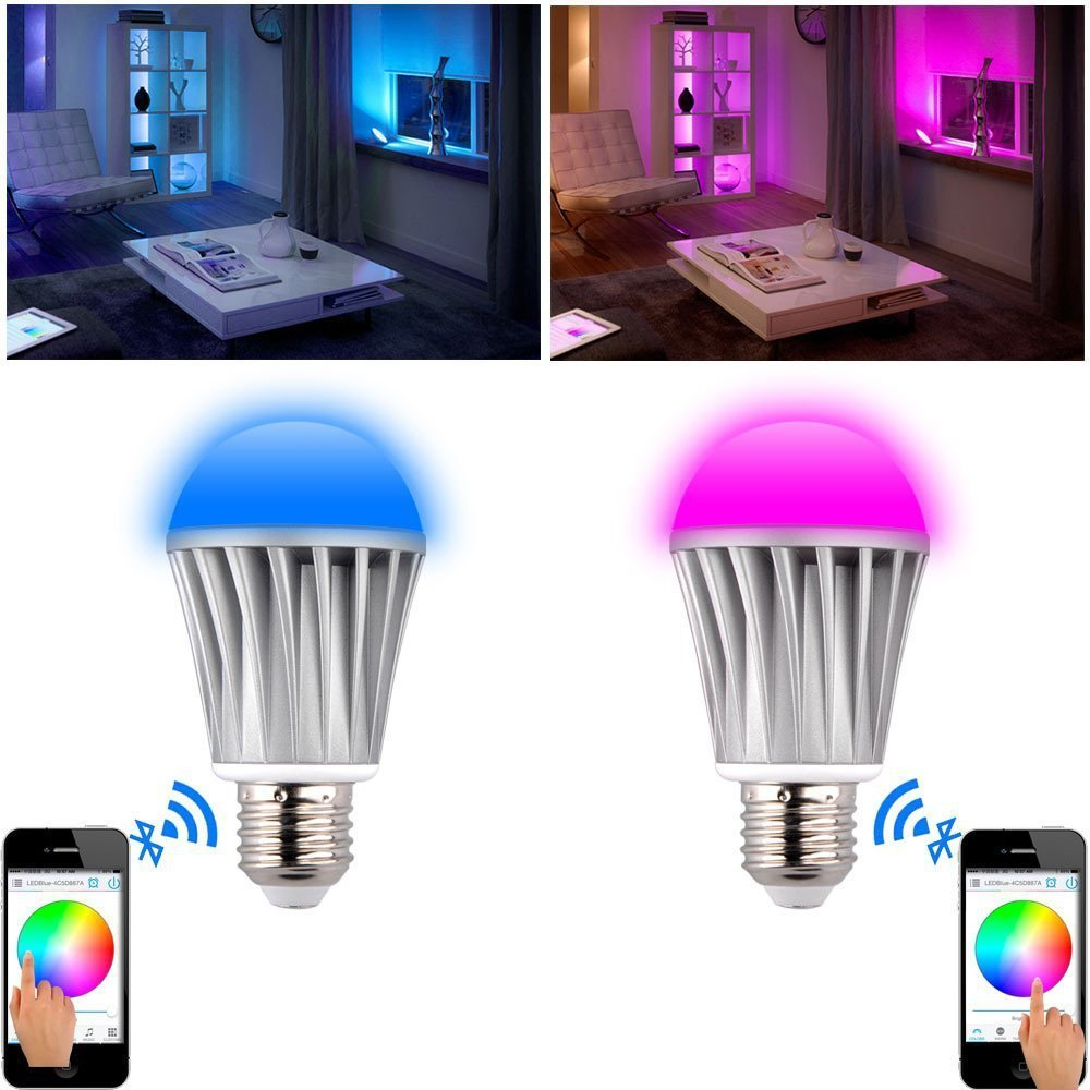 Bluetooth-E27-Light-Bulb-Music-Alarm-Group-Smart-LED-Light-Bulb-RGB-APP-Remote-Multi-Color (1)