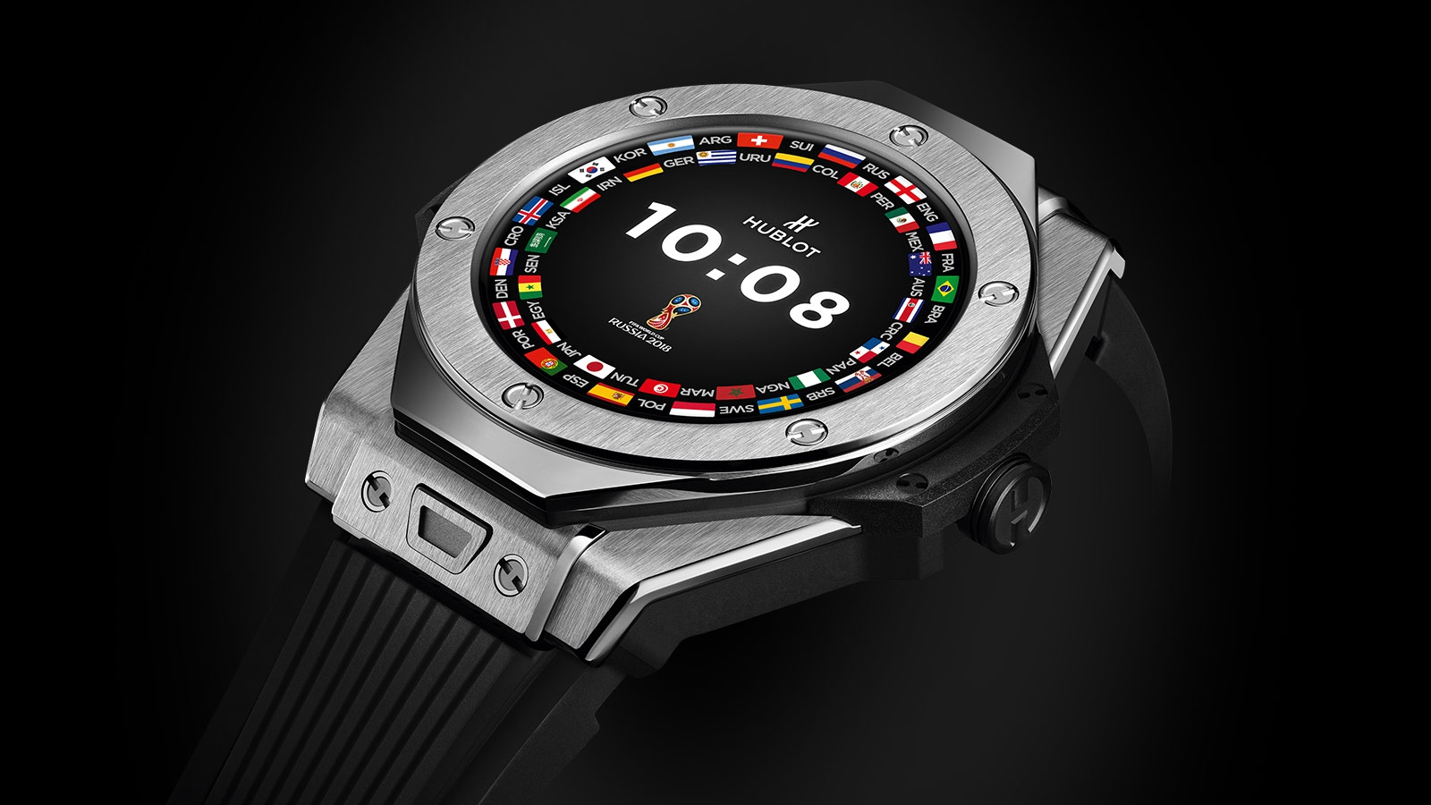 Люксовый бренд Hublot представил свои первые смарт-часы - Медгаджетс 8ffee2e504bd8