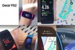 Samsung Gear Fit2 покажет маршрут прямо на дисплее
